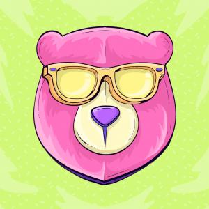 Urso de Óculos