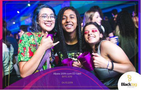 Abate 2019 com DJ GBR
