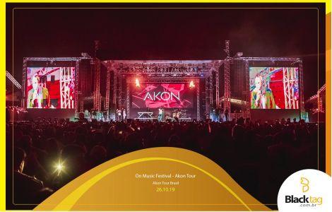 On Music Festival - Akon Tour