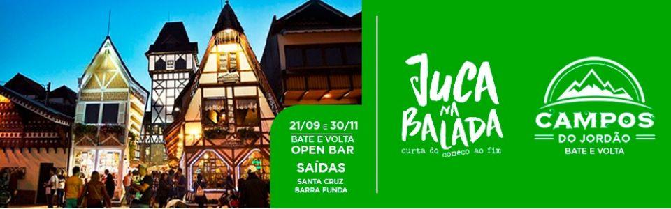 Campos do Jordão - Bate e Volta Open Bar