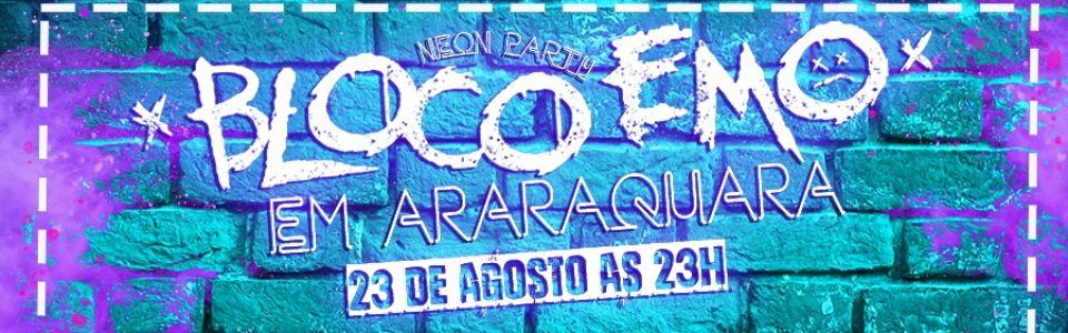 Bloco emo em Araraquara/SP