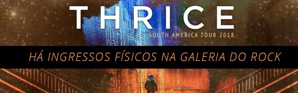 Thrice em São Paulo
