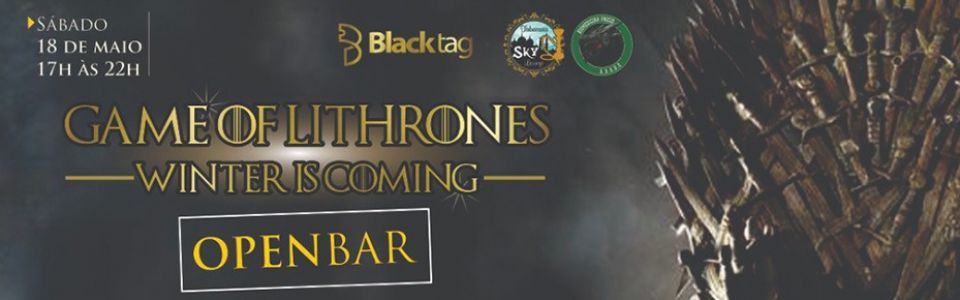 Game of Lithrones | Winter is coming - Atlética Draken