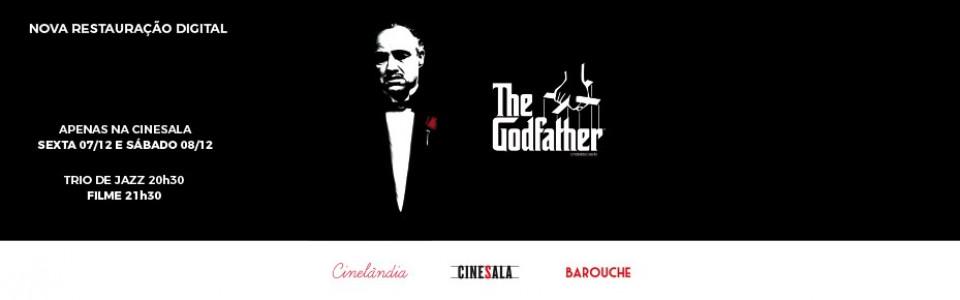 Cinelândia #2: O Poderoso Chefão * Trio de Jazz às 20h30 + Filme às 21h30*