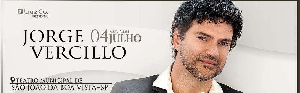 Jorge Vercillo - São João da Boa Vista/SP