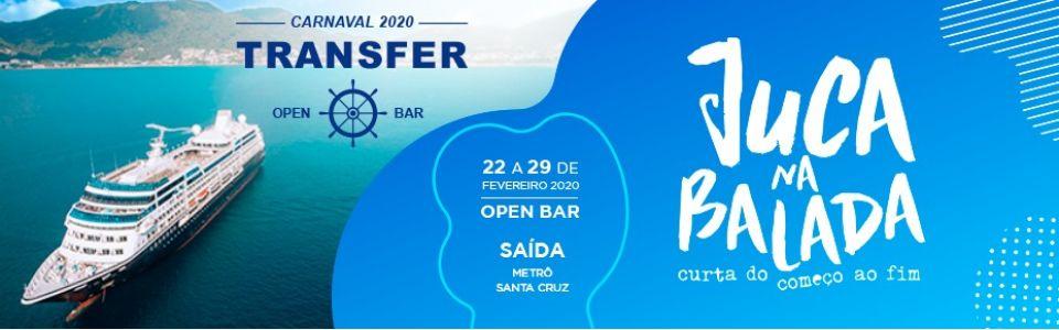 Transfer Open Bar Temporada de Cruzeiros de Carnaval 2020