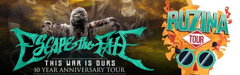 Buzina Tour 4 bandas c/Escape The Fate (USA)