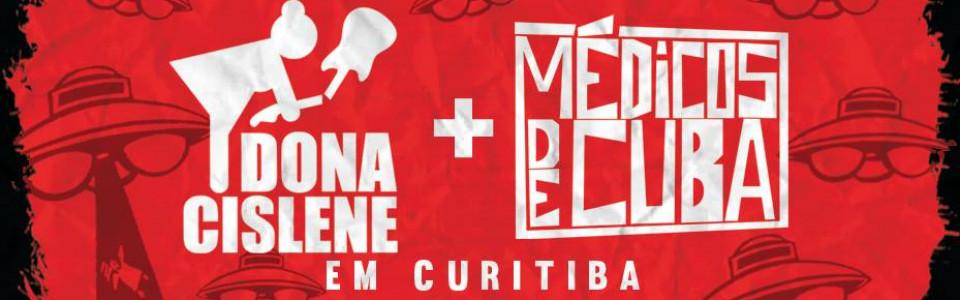 Dona Cislene + médicos de cuba em Curitiba