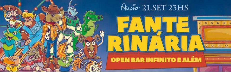 Fanterinária 2019 | Open Bar Infinito e Além!
