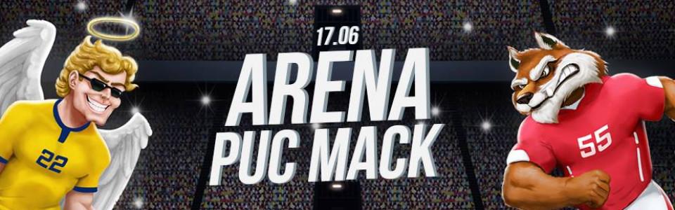 ARENA PUC MACK | Em clima de Copa