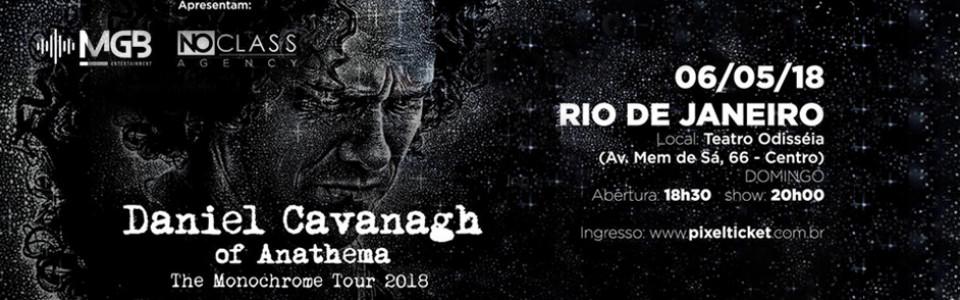 Daniel Cavanagh no Rio de Janeiro