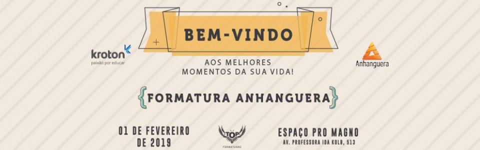 Baile de Formatura Anhanguera 2018