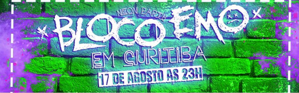 Bloco emo Neon Party  em Curitiba/PR