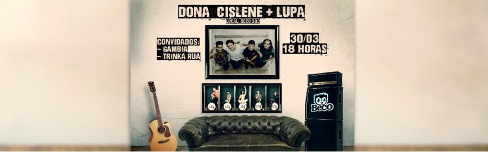 Dona Cislene + Lupa