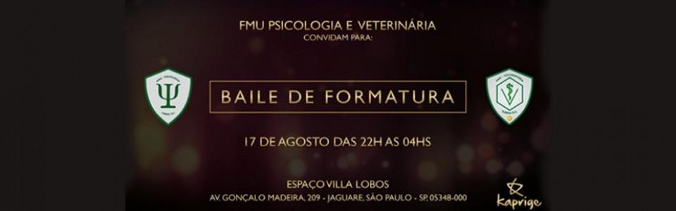 Baile de Gala FMU Veterinária, Psicologia e Fisioterapia