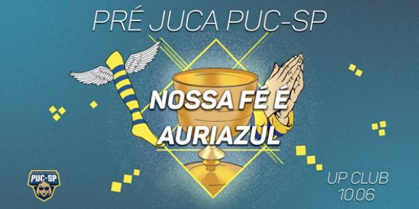 Pré JUCA PUC - SP   Nossa fé é auriazul