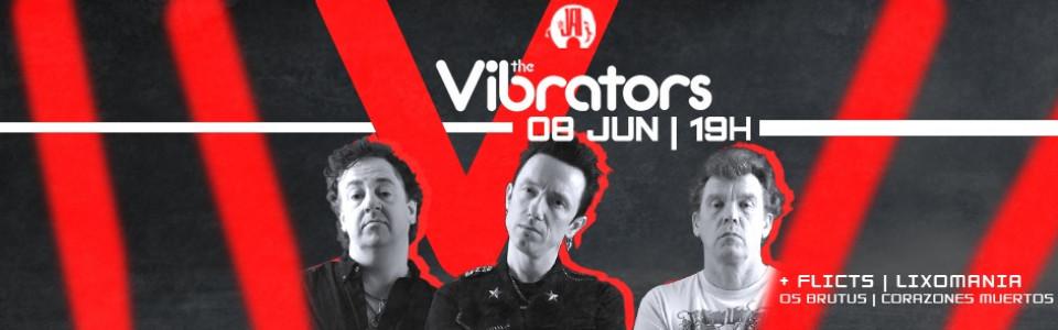 The Vibrators (UK) em São Paulo