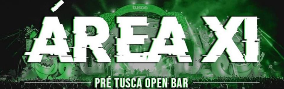 Área XI - Pré TUSCA Open Bar