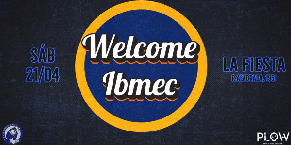 WELCOME IBMEC