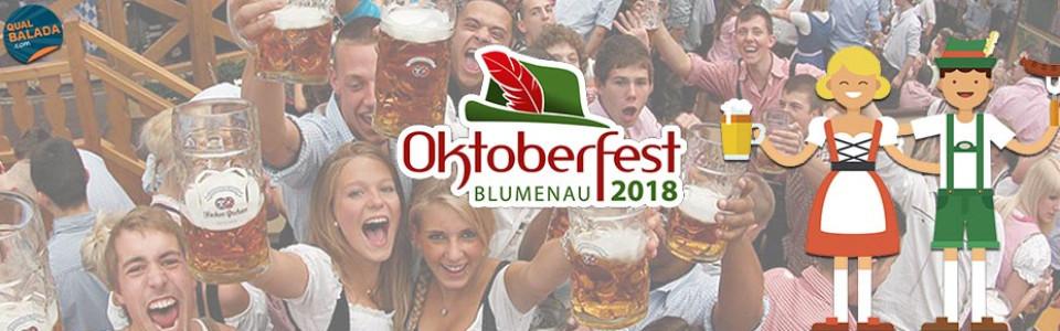 Oktoberfest Blumenau 2018   Qual Balada