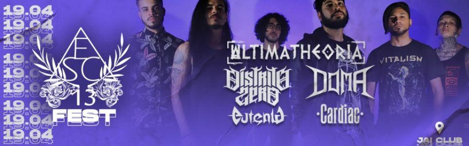 "E s c ó r i a 13 FEST - Lançamento da EP ""Apelo de Uma Alma"""