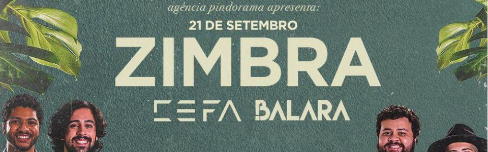 Zimbra em Curitiba/PR - tour Verniz