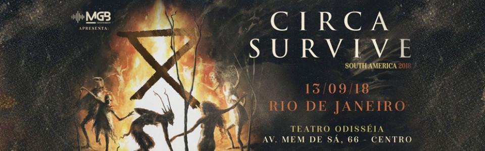 Circa Survive no Rio de Janeiro