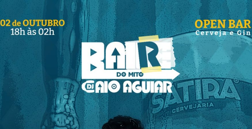 Bar do Mito - Dj Caio Aguiar - Open Bar (Cerveja e Gin)