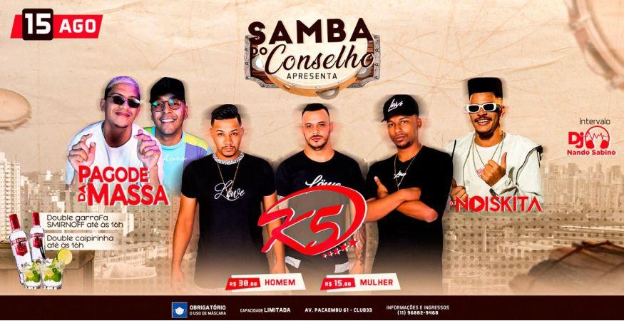 Samba do Conselho no Club 33
