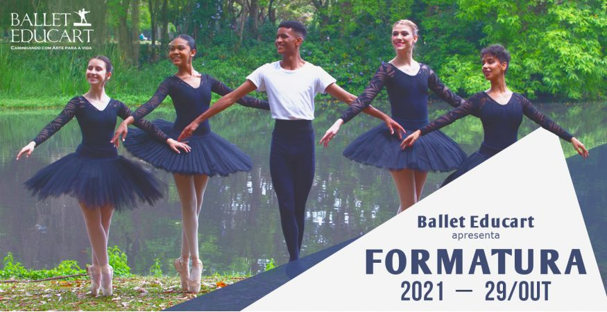 Espetáculo de Formatura Ballet Educart em 29/10
