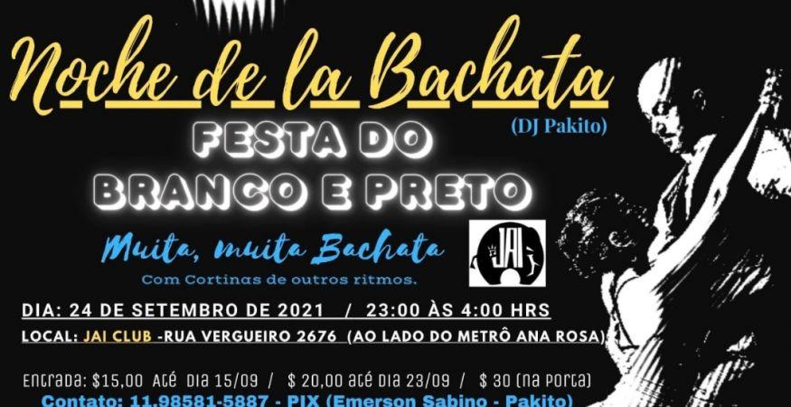 Noite de lá Bachata - 24.09 - Jai Club