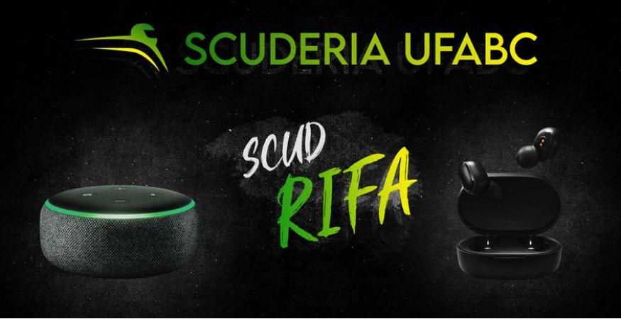 Rifa de aniversário Scuderia UFABC