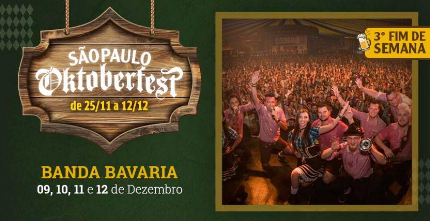 "São Paulo Oktoberfest 2021 - 09.12.2021- ""Banda Bavaria"" - Espaço Vip - Mesas Reservadas"