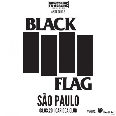 Black Flag em São Paulo.
