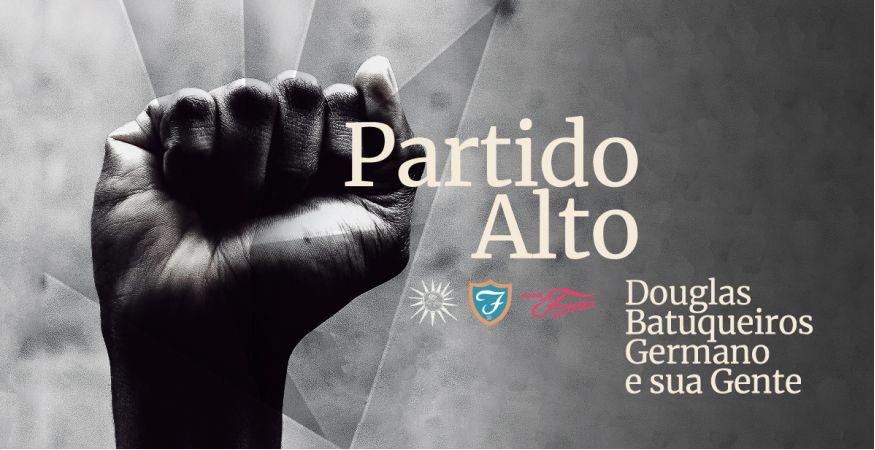 """PARTIDO ALTO """"Douglas Germano e os Batuqueiros e sua Gente"""" - SEX 05/11 (abertura da casa 20h)"""