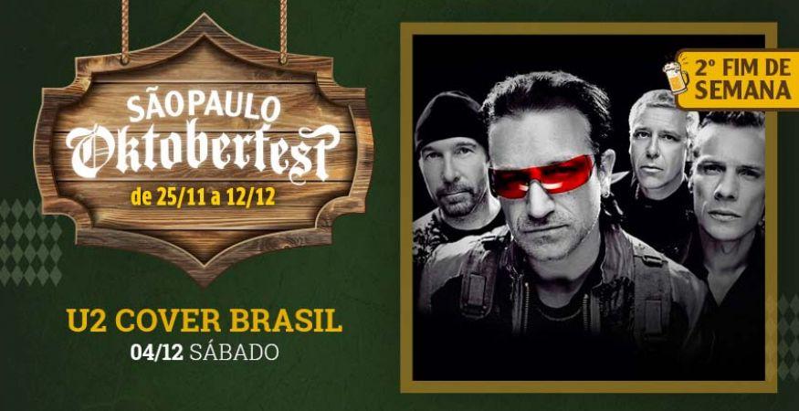 """São Paulo Oktoberfest 2021 - 04.12.2021 - """"U2 Cover Brasil"""" - Espaço Vip - Mesas Reservadas"""