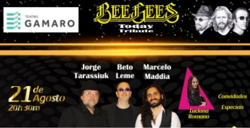 Bee Gees Today Tribute - Teatro Gamaro