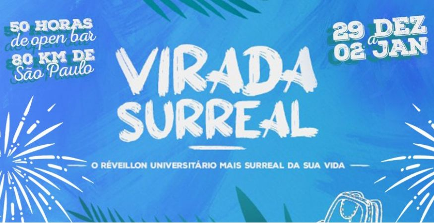 VIRADA SURREAL 2022 - Atlética Engenharia Santos - Unisanta