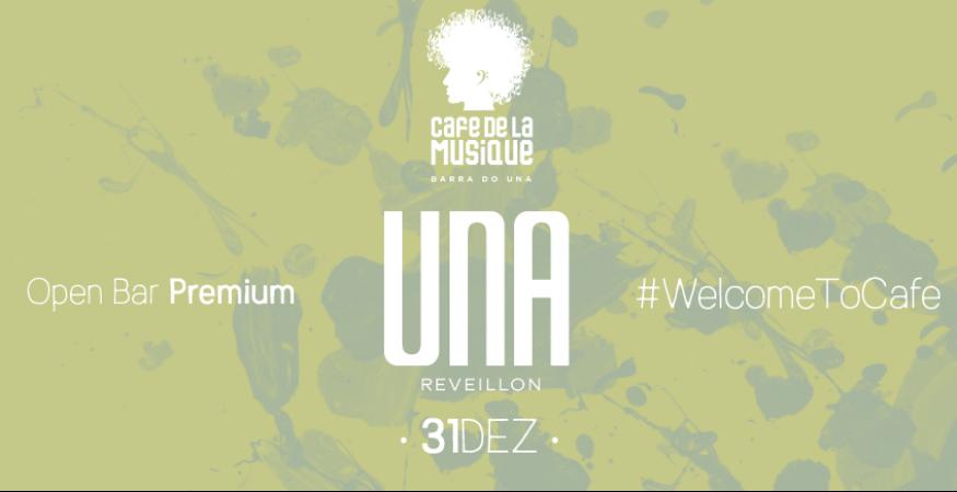 Cafe de La Musique - Barra do Una - 31/12 - Reveillon