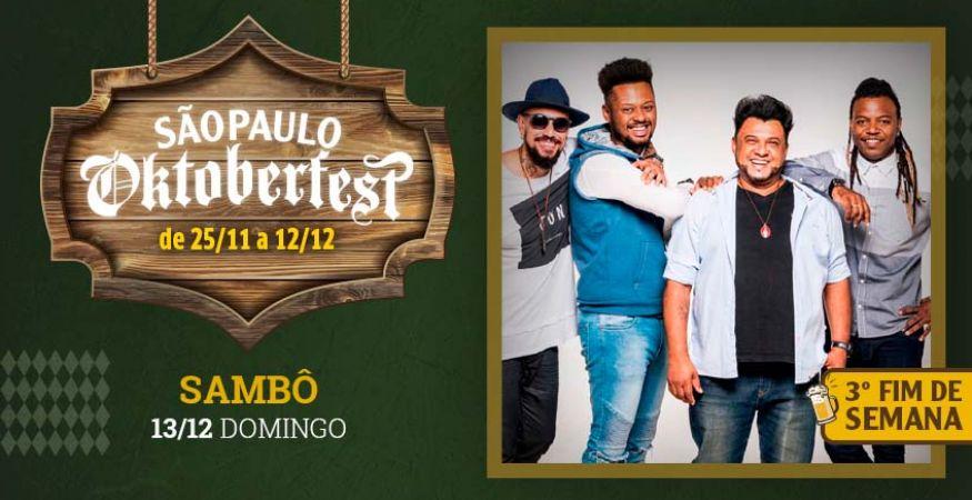 "São Paulo Oktoberfest 2021 - 12.12.2021 - ""Sambô"" - Espaço Vip - Mesas Reservadas"