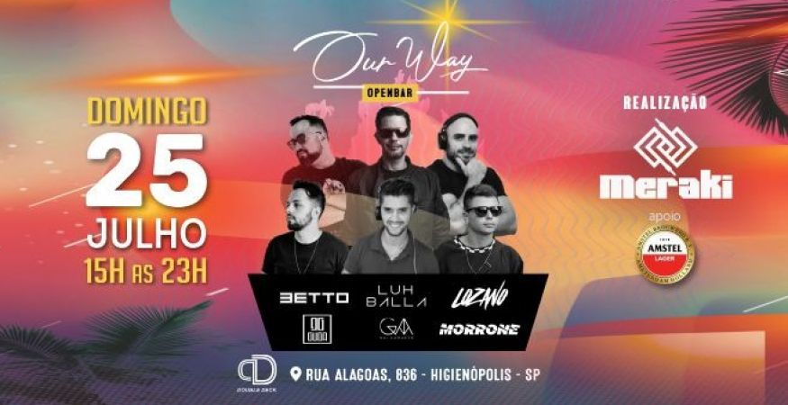 Our Way - Open Bar - 25/07