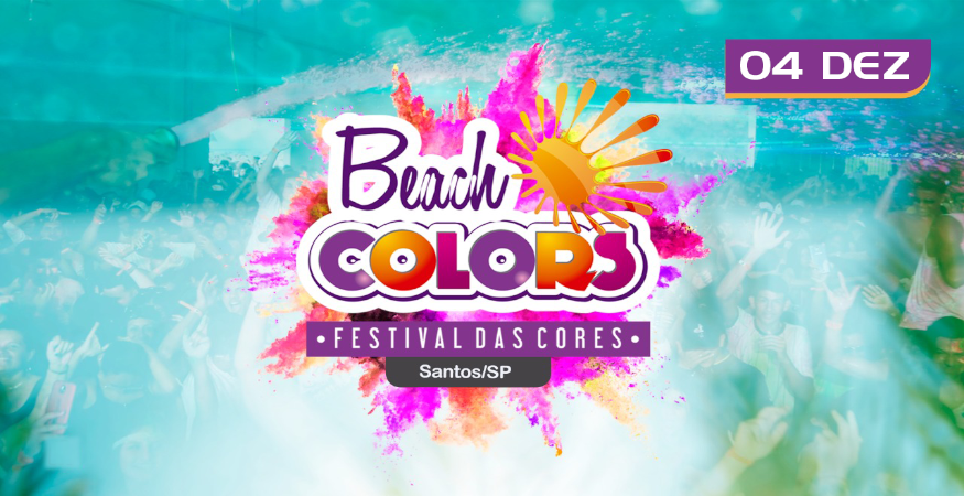 Beach Colors - Festival das Cores