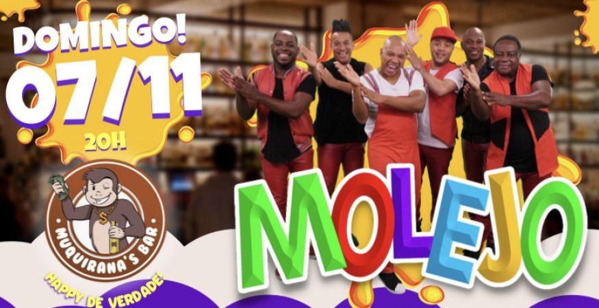 Show do Grupo Molejo   MUQUIRANAS BAR