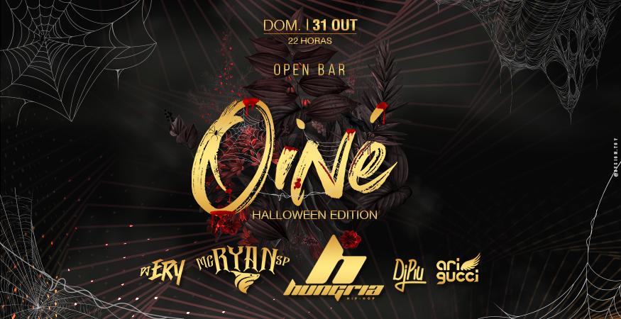 Oi Né - Halloween Edition Apres. Hungria, Ryan SP, Dj Piu, Dj Ery, Noiskita, Ari Gucci, Dj Bruno Preto e Theus Marti