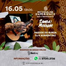 Modular Experience   Domingo (16/05)