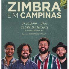 Zimbra em Campinas/SP - tour Verniz