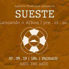 SUESTE - Lançamento oficial do disco