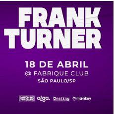 Frank Turner em São Paulo/SP