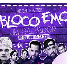 Bloco Emo em Salvador/BA - Neon Party