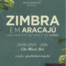 Zimbra em Aracaju - Lançamento do novo CD